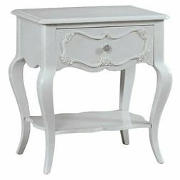 Acme Furniture Edalene Nightstand, Gray
