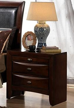 Roundhill Furniture Emily 111 Contemporary Solid Wood Constr