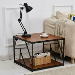End Side Table Nightstand Sofa Chair Bedside Accent Hall Sta