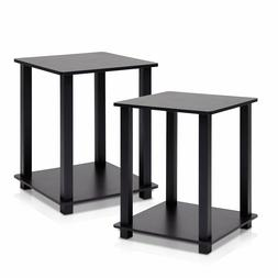 End Table Black Coffee Tables Living Room Indoor Plant Stand