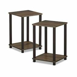 End Table Night Stand 2 Tier Tables Furniture Office Home Mo