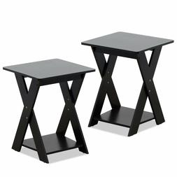 End Table Pair Furniture For Bedroom Living Room Table Lamp