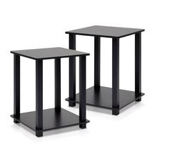 End Tables With Storage Living Room Furniture Decor Set of 2