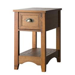 Entryway Side Table Compact Table Premium Nightstand with St