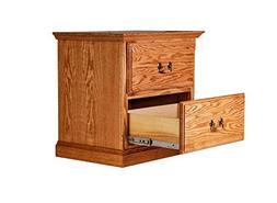 Forest Designs FD-3034-TG- HO Traditional Two Drawer Nightst