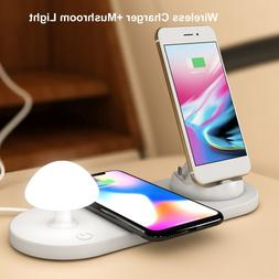 <font><b>3</b></font> in 1 Wireless Wireless Charger <font><