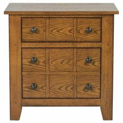Liberty Furniture 175-BR61 Grandpa's Cabin Drawer Night Stan