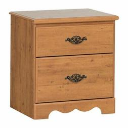 South Shore Prairie Collection 2-Drawer Nightstand, Country