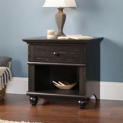 Sauder Harbor View Night Stand Antiqued Paint Nightstand, Ne