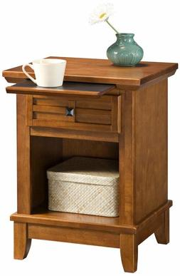 Home Styles 5182-42 Arts and Crafts Night Stand, White Finis