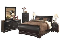 Ashley Huey Vineyard 6PC E King Sleigh Bedroom Set With Two