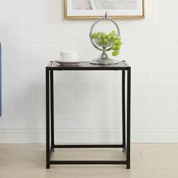 Iron End Table Living Room Sofa Side Furniture Night Stand H