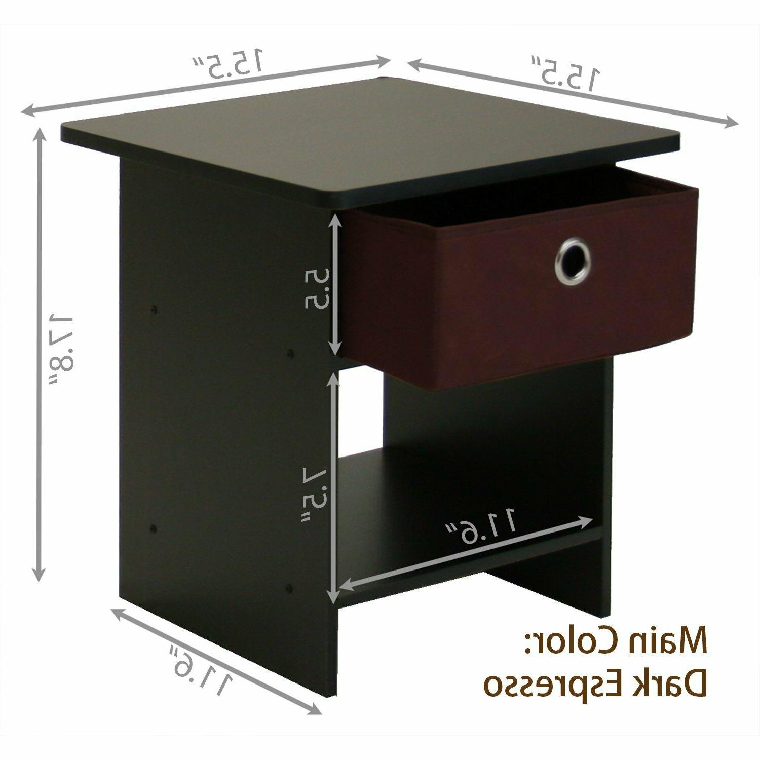 Side Table For Spaces Tables Bedside Night Accent Wood