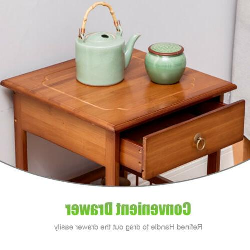 2/3 Layers Retro Bedside Side