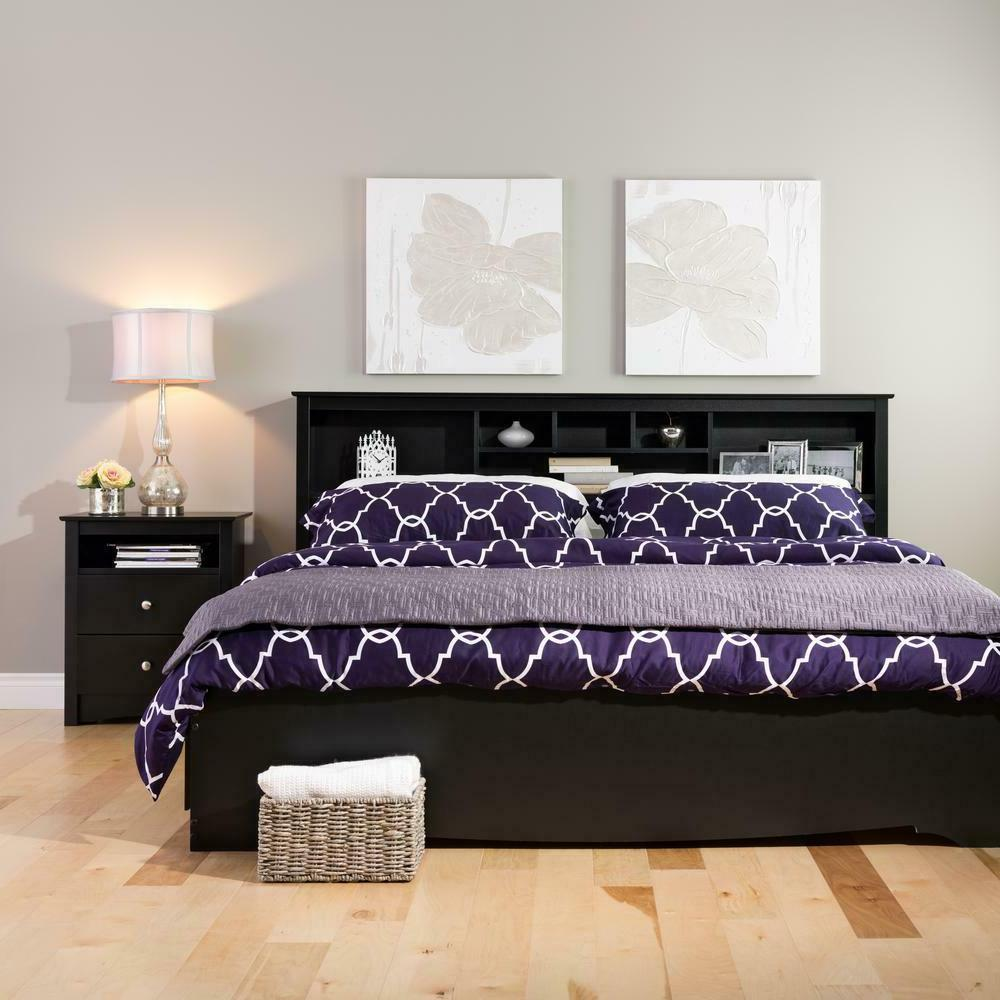 Sonoma 2-Drawer Night Bedside Table Bed