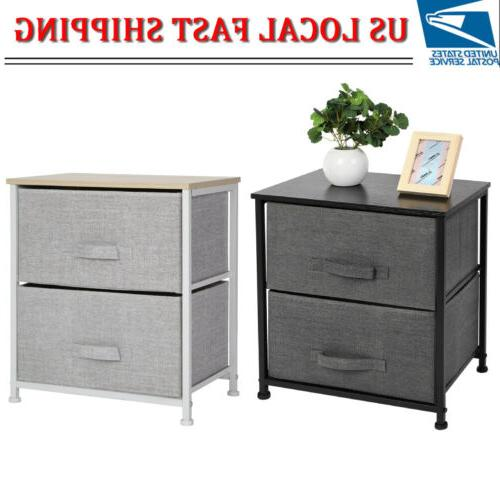 2 drawers bed sofa side table night