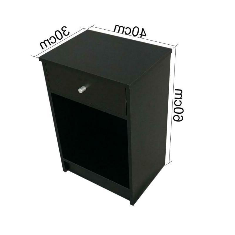 2 Layer With Drawer Table