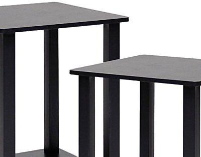 2 pieces simplistic end table coffee stand