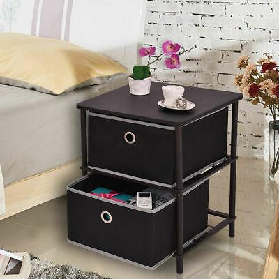 2 tier night stand table