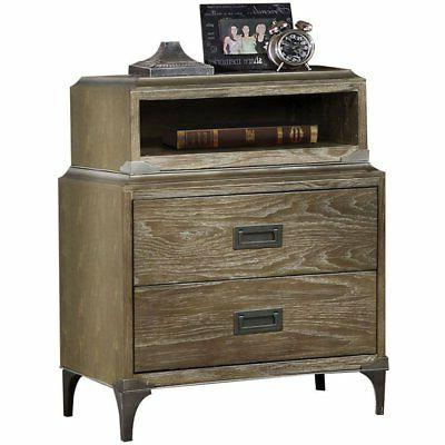 ACME Nightstand with Charger, Size