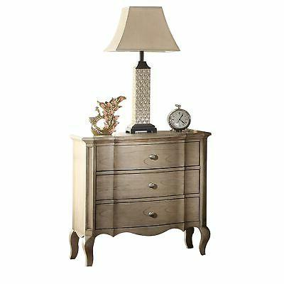 ACME Chelmsford Antique Taupe Nightstand