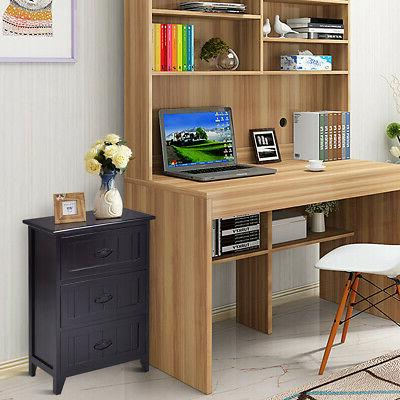3 Nightstand Table Bedroom Side Bedside
