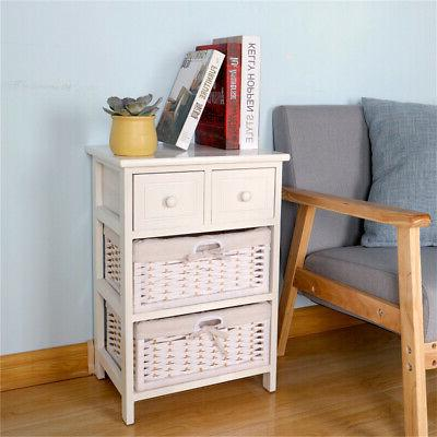 3/4 Layer End Bedside with