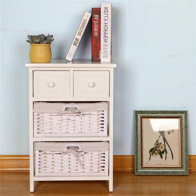3/4 Bedside with Drawer,Storage