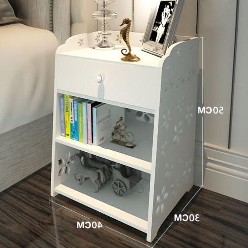 3 Night Stand Bedside Organizer