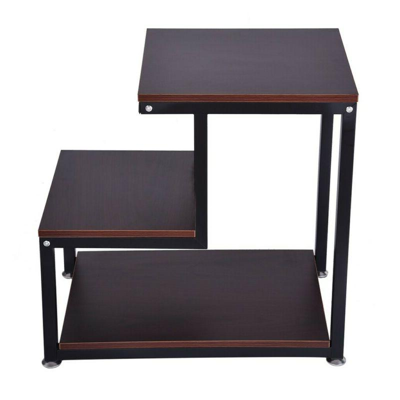 Country Table, Side Table Night Stand With Storage End Table