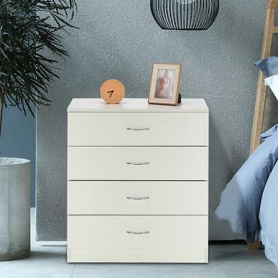 home bedroom 4 drawers night stand wooden