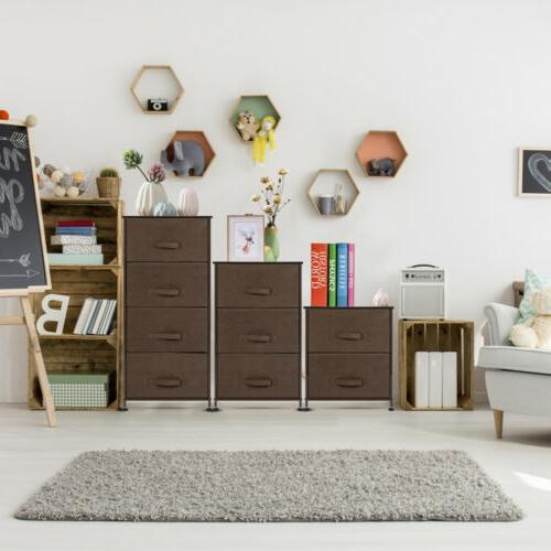 Night Stand 2 Drawers Bedroom Living Room Storage Bedside Ta