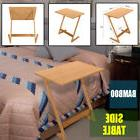 Bamboo Tray Side Sofa End Table Bedroom Bedside Tables TV La