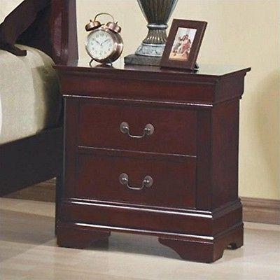 Coaster Home Furnishings 203972 Traditional Nightstand, Cher