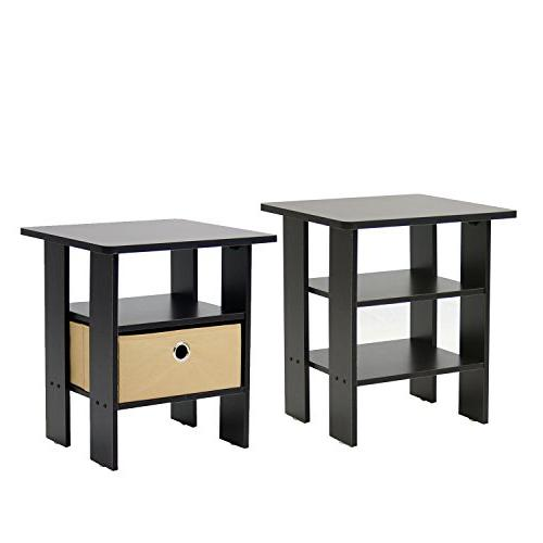 Furinno Table Espresso, Set
