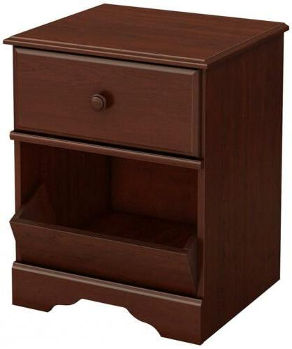 South Shore Little Treasures 1-Drawer Night Stand, Royal Che