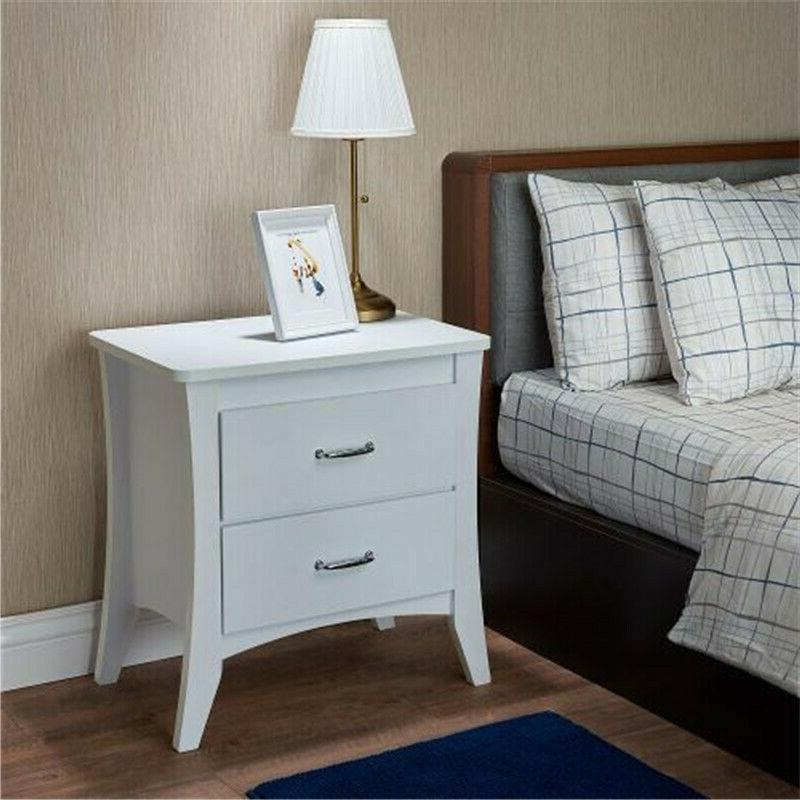 ACME Furniture Babb Night Table in White USA Stock @cy