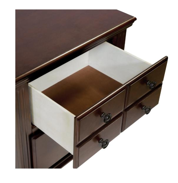 Furniture Alianess Cherry Nightstand Bedroom