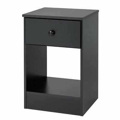 Prepac Astrid Tall 1-Drawer Night Stand