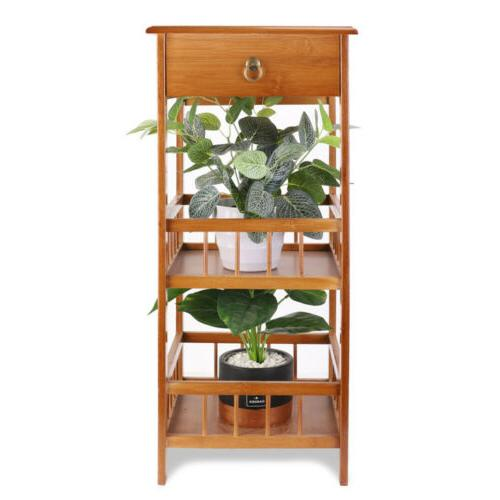 Bamboo End with Stand Plant
