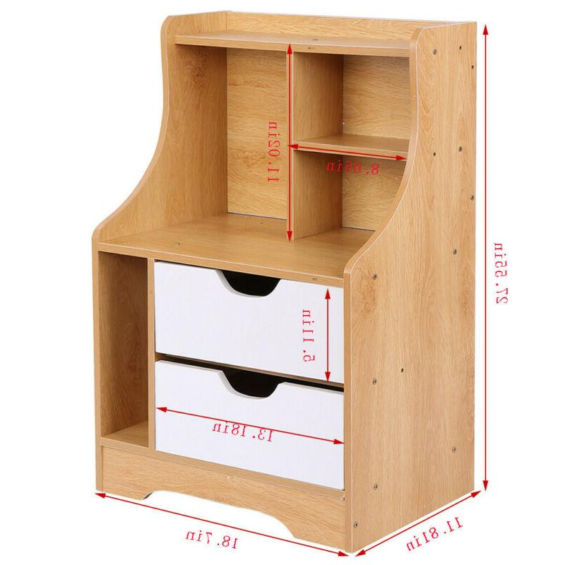 End Stand Table Storage w/Drawer NEW