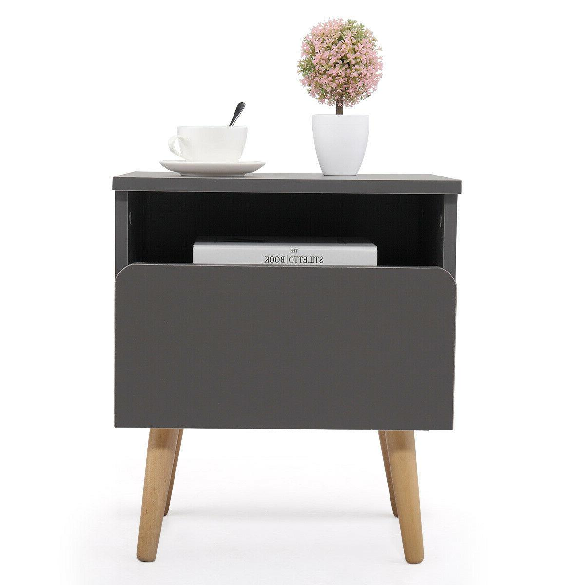 bedroom nightstand bedside table side stand accent