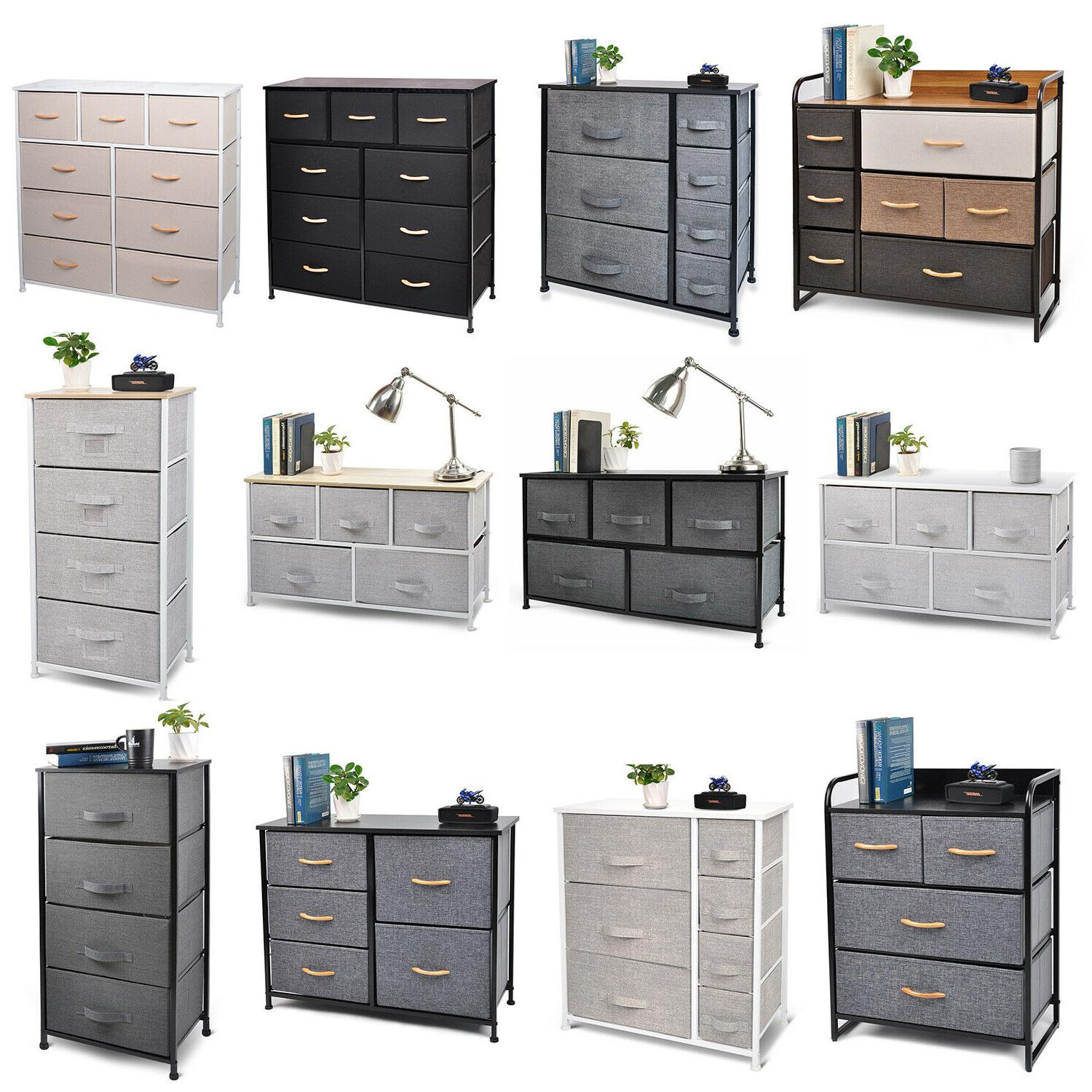 bedroom storage dresser tower shelf organizer bins