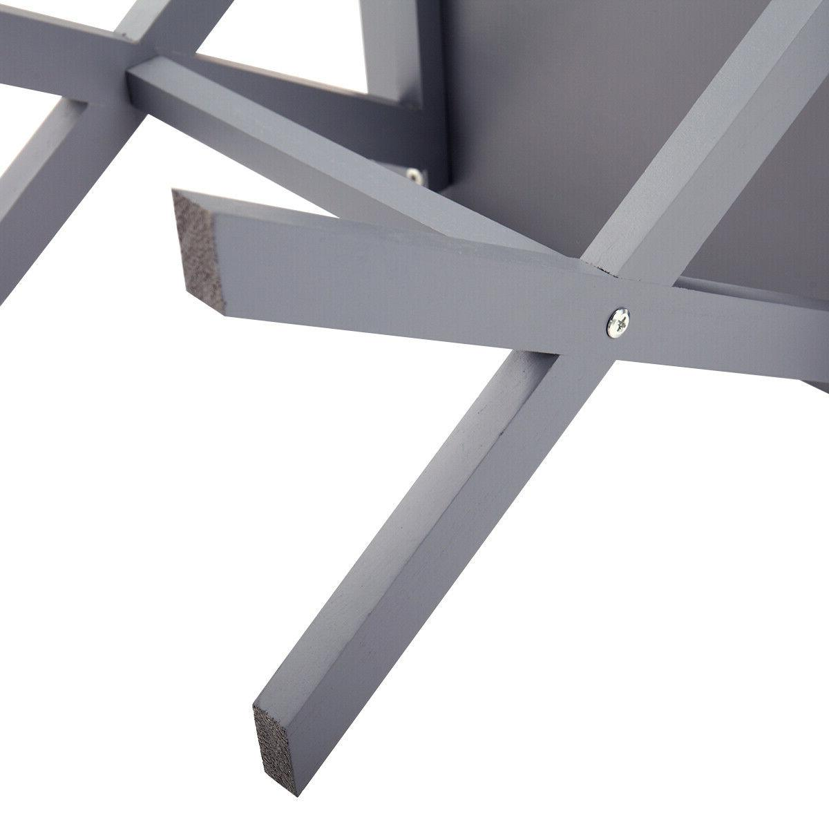 Bedside drawer beam Gray