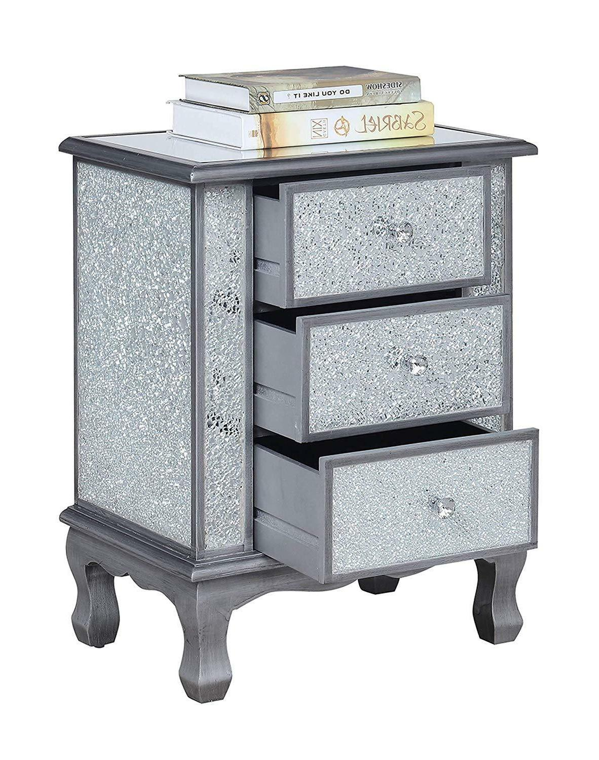 Convenience Gold Collection 3-Drawer End Table,