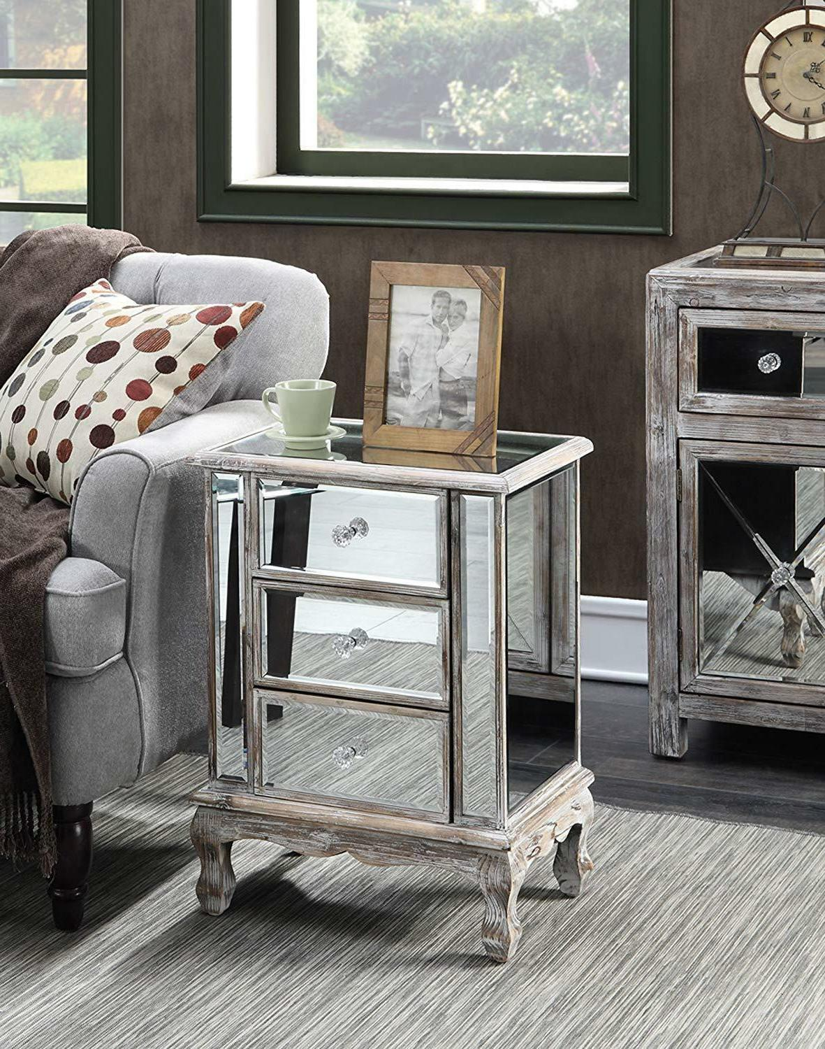 Convenience Coast Collection 3-Drawer End Table,