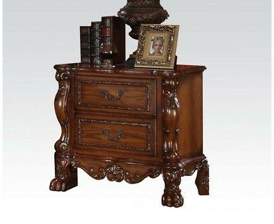 1PerfectChoice Dresden Antique Bedroom Night Stand Storage D