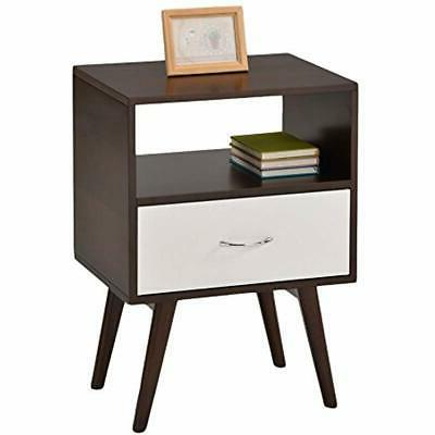 end tables side table nightstand with drawer