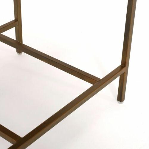 Essa Gold Drawer Side Table