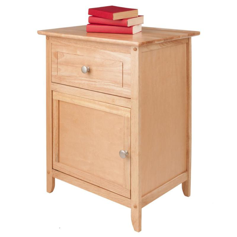 Eugene Accent Table Natural Night Stand